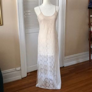 Maxi lace sundress
